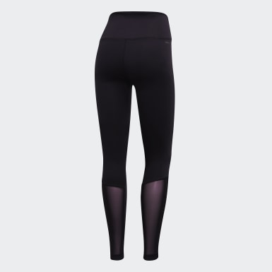 Kvinder Studio Sort Design 2 Move High-Rise Logo tights