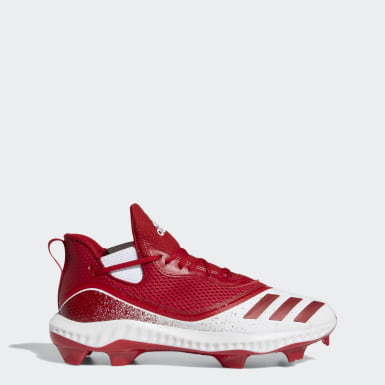 Men's Baseball Red Icon V Bounce TPU Cleats