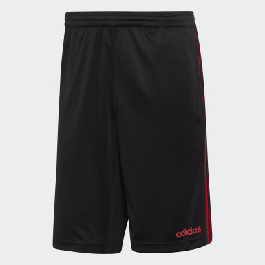 Men's Essentials Black Design 2 Move Climacool 3-Stripes Shorts