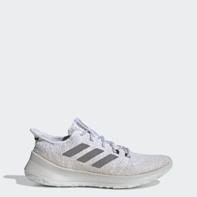 Women Running White Sensebounce+ Shoes