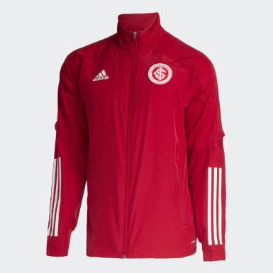 Jaqueta Pré-Jogo Internacional Vermelho Homem Futebol