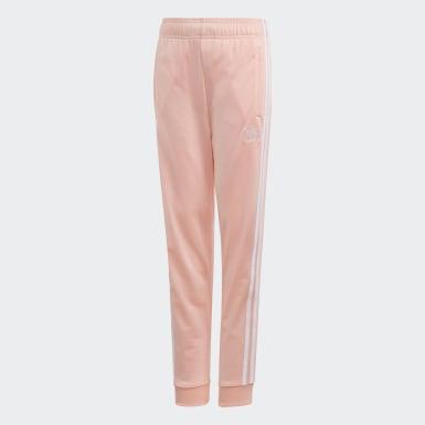 Dívky Originals růžová Sportovní kalhoty SST