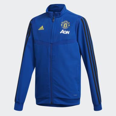 синий Парадная куртка Манчестер Юнайтед