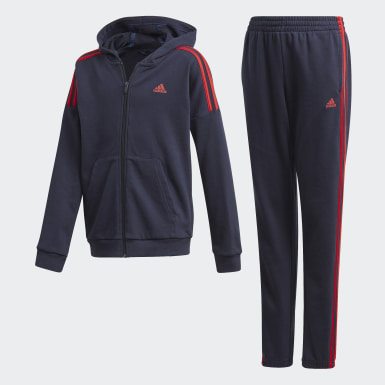 Boys Training Blue Tracksuit