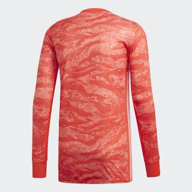 оранжевый Вратарский лонгслив AdiPro 18