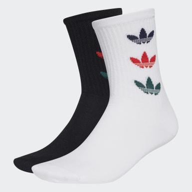 Originals bílá Ponožky Trefoil Crew – 2 páry