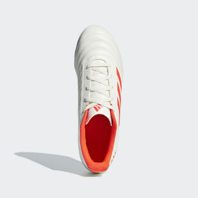 Men Football White Copa 19.4 Turf Boots
