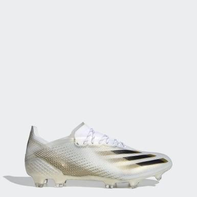 Zapatos de fútbol X Ghosted.1 Terreno Firme Blanco Hombre Fútbol