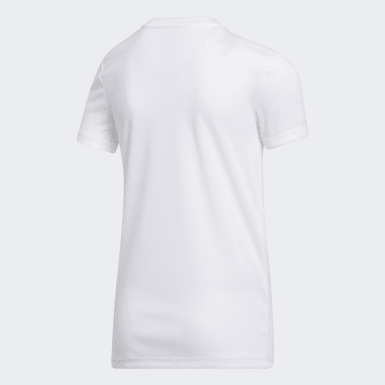 Youth Training White CLIMA TECH TEE