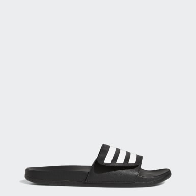 Men's Swim Black Adilette Comfort Slides