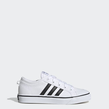 Youth Originals White Nizza Shoes