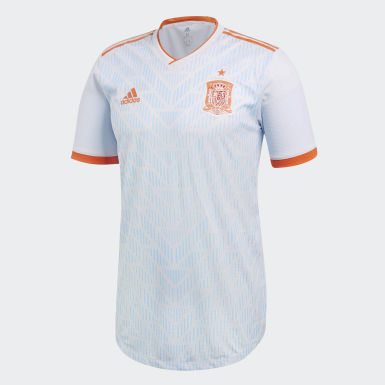 Spain Away Authentic Jersey