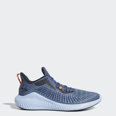 Men Running Blue Alphabounce+ Shoes