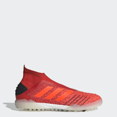 Zapatos de Fútbol Predator Tango 19+ Césped Artificial Rojo Hombre Fútbol
