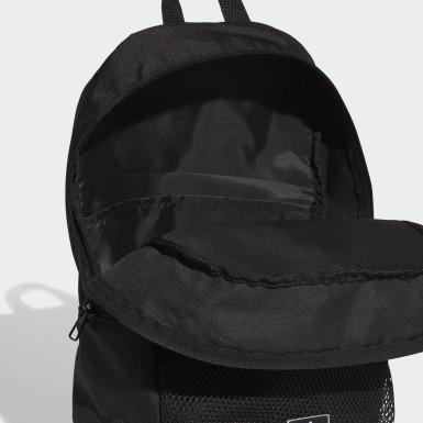 Házená černá Batoh Classic 3-Stripes