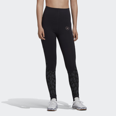 Kvinder adidas by Stella McCartney Sort TRUESTRENGTH Yoga tights