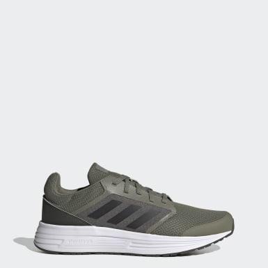 Men Running Green Galaxy 5 Shoes