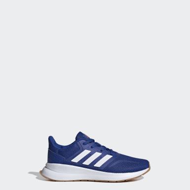 Børn Løb Blå Runfalcon sko