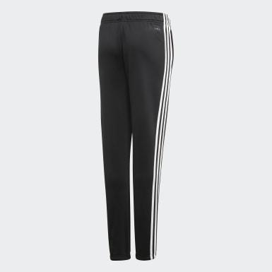 Pantalón Cardio - Cintura Media Negro Niña Training