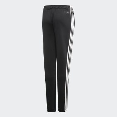 Pants Cardio - Corte Medio Negro Niña Training