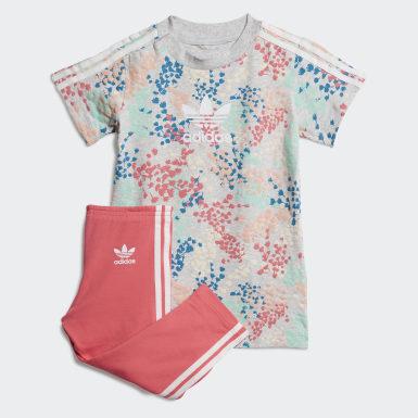 разноцветный Платье и брюки