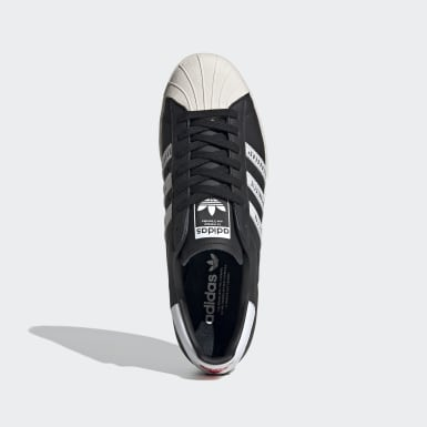 Tenis Superstar 80s Human Made Negro Hombre Originals