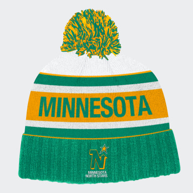 Minnesota North Stars Cuffed Knit Pom Hat