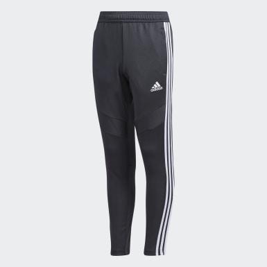 Pantalon d'entraînement Tiro 19 gris Adolescents Soccer