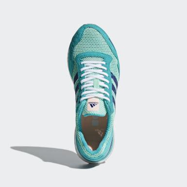 Women Running Turquoise Adizero Adios 3 Shoes