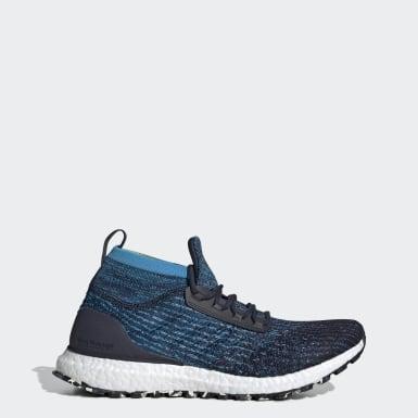 Men Running Blue Ultraboost All Terrain Shoes