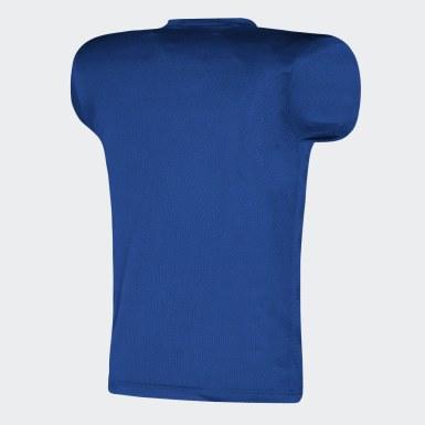 Men's Football Blue Practice Jersey