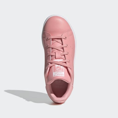 Children Originals Pink Stan Smith Shoes