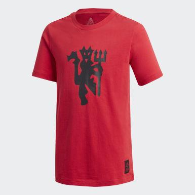 красный Футболка Манчестер Юнайтед Graphic