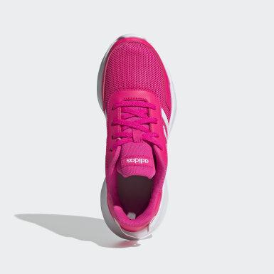 Çocuklar Koşu Pembe Tensor Ayakkabı
