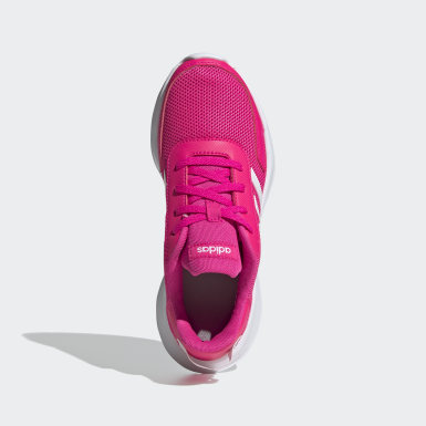 Kids 4-8 Years Running Pink Tensor Shoes
