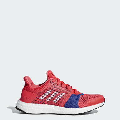Chaussure Ultraboost ST rose Femmes Course