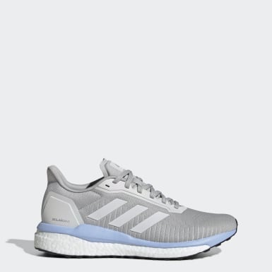 Women Running Grey Solar Drive 19 Shoes