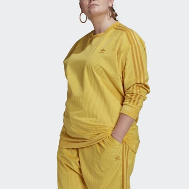 Women's Originals Yellow Crew Sweater