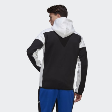 Erkek Athletics Black adidas Z.N.E. Full-Zip Hoodie
