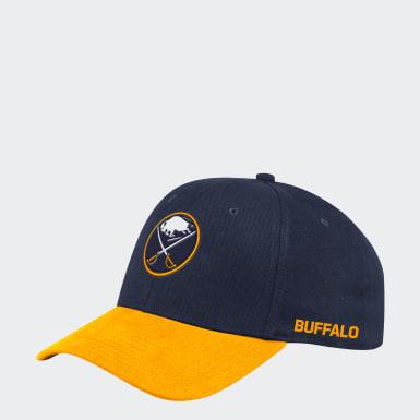 Men's Hockey Multicolor Sabres Coach Structured Flex Hat