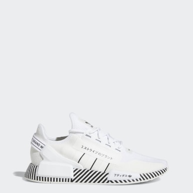 Men Originals White NMD_R1 V2 Shoes