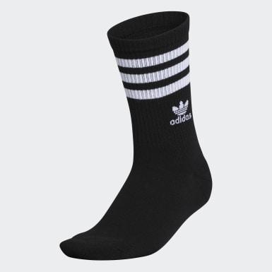 Women's Originals Black Recycled Single Crew Socks