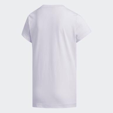 Camiseta Camouflage Violeta Niña Athletics