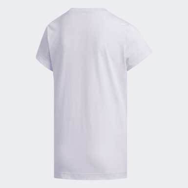 Mädchen Athletics Camouflage T-Shirt Lila
