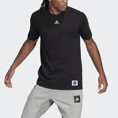 Camiseta adidas Sportswear Loose Fit Preto Homem Athletics