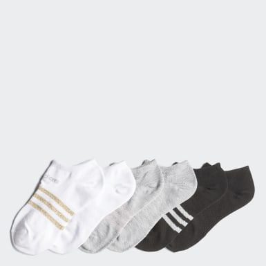Youth Training Multicolor Superlite No-Show Socks 6 Pairs