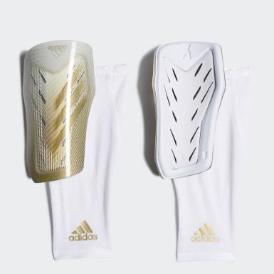 Fodbold Hvid X 20 Pro benskinner