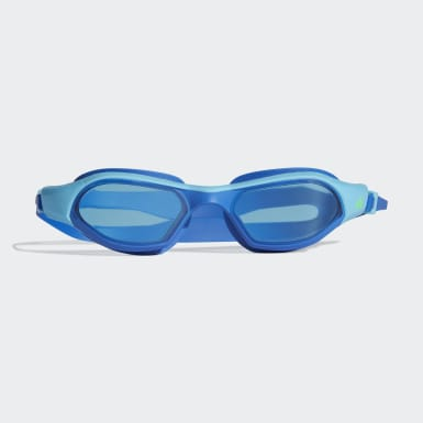 Genç Yüzme Turkuaz adidas persistar 180 unmirrored çocuk yüzücü gözlüğü