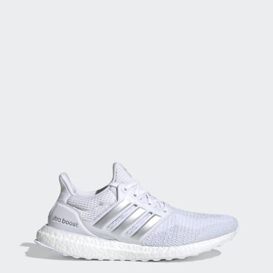 Men's Running White Ultraboost DNA Shoes