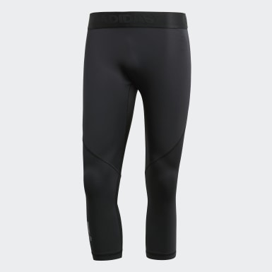 Herr HIIT Svart Alphaskin Sport 3/4 Tights